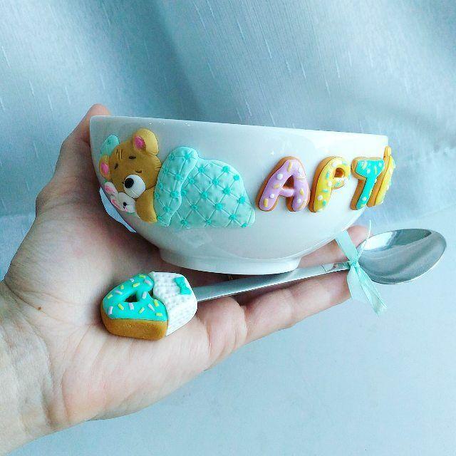 Набор для мальчика Артема на заказ для @lunaanuk  ______________________ Все ложечки в группе Вк по альбомам,активная ссылка в профиле ⬆ и здесь ⬇ #lerasandrovna_crafts #spoon #интерьер #handmade #polymerclay #worldbestideas #shebby #cake #cupcakes #вкусныеложечки #ложечки #праздник #дети #торт #подарки #свадьба #идеи #мороженое #ручнаяработа #Казань #рукоделие #творчество #полимернаяглина #roses #лепнина #cupsarelove #пироженки