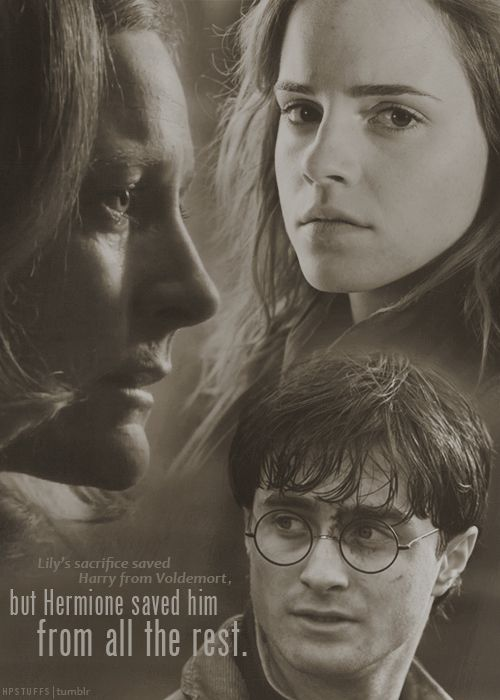 HHR, HARMONY, HARRY POTTER, HARRY AND HERMIONE, HERMIONE GRANGER, LILY POTTER, HP7-1, HP7-2