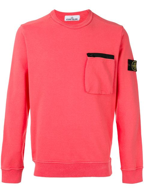 STONE ISLAND Patch Detail Sweatshirt. #stoneisland #cloth #sweatshirt