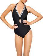 Sunseeker Oceano Double Ring One Piece #sunseeker #swim #swimsuit #style #spring #summer #new #davidjones #shop #love #onepiece