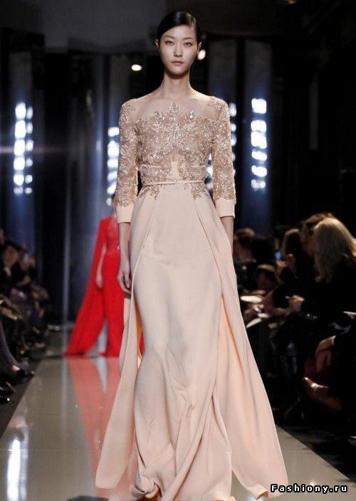 Elie Saab Haute Couture Весна-Лето 2013 / вечерние платья от кутюр 2013