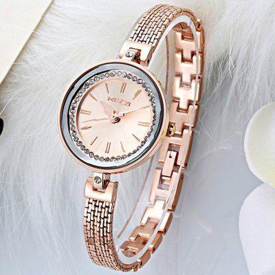 Hoy con el 51% de descuento. Llévalo por solo $66,400.KEZZI KW-1280 elegante diamante Japón señoras reloj de cuarzo.
