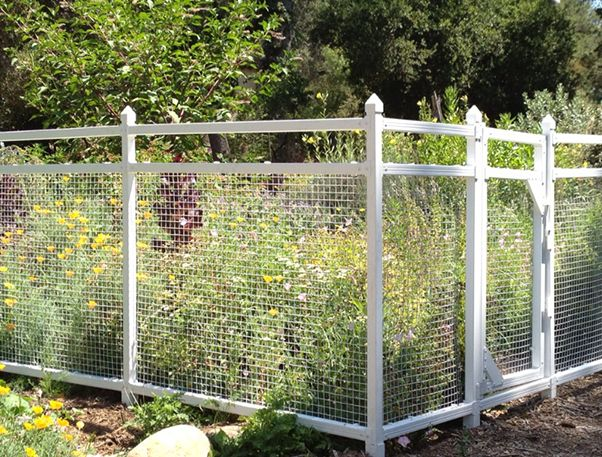 1000 images about GARDEN FENCES on Pinterest Gardens Deer and