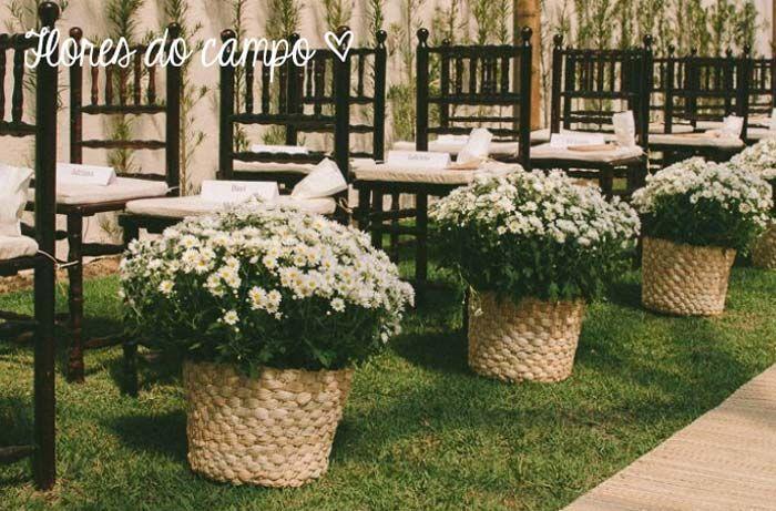 9 sugestões simples para decorar a cerimônia de casamento | Blog do Casamento
