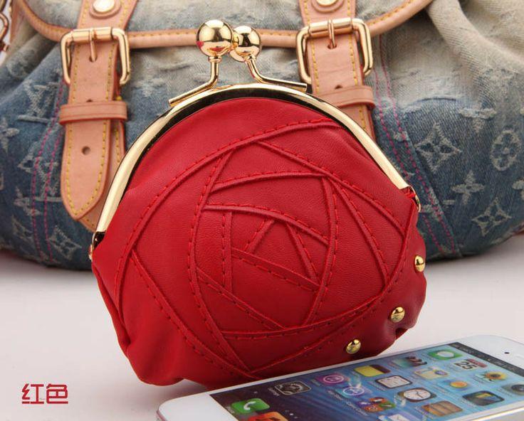 New fashion  retro roses lady  clutch bag coin purse 386,22 руб.