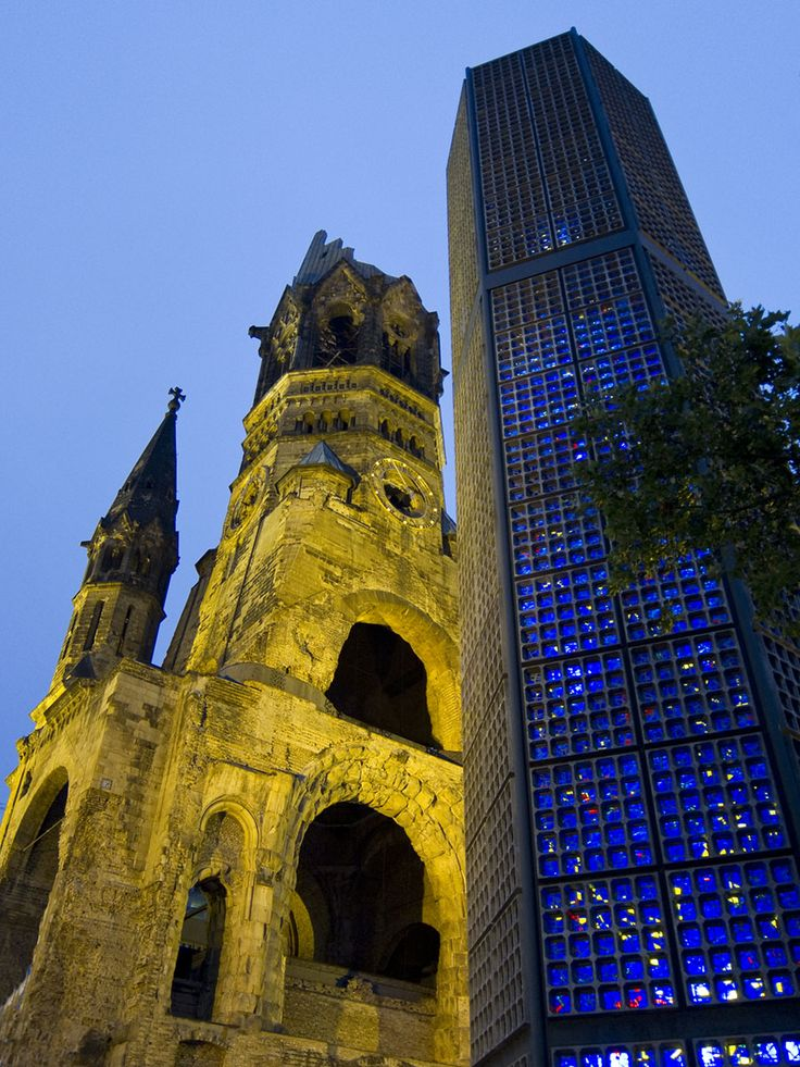 Kaiser Wilhelm Memorial Church - Berlin | Kaiser Wilhelm ...