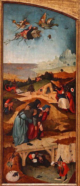Hieronymus Bosch, Temptations of Saint Anthony