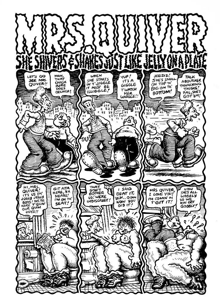 image result for mrs quiver robert crumb