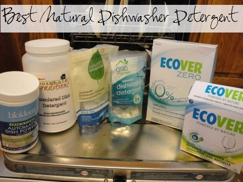 Homemade dishwasher detergents totally failed you? Here are the best natural commercial dishwasher detergents that actually work (and the ones that really do not) :: via Kitchen Stewardship
