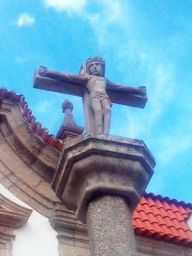 Ancient Jesus in a portuguese church...