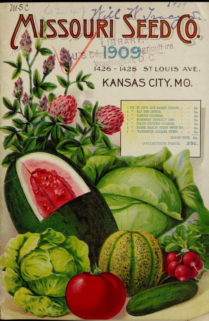 Missouri Seed Co Catalogue