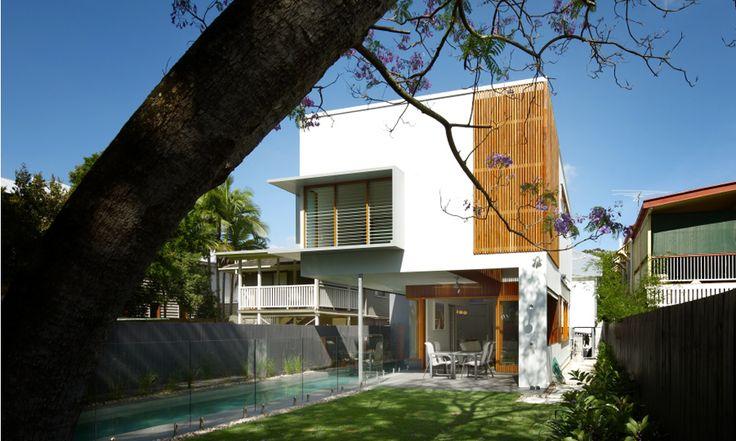 Hawthorne House, Brisbane by Arkhefield. Photography: Scott Burrows
