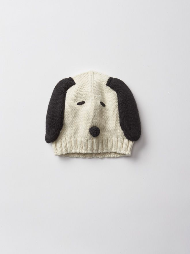 Snoopy Beanie from GAP's latest capsule collection with PEANUTS | GAPとピーナッツがコラボ発表