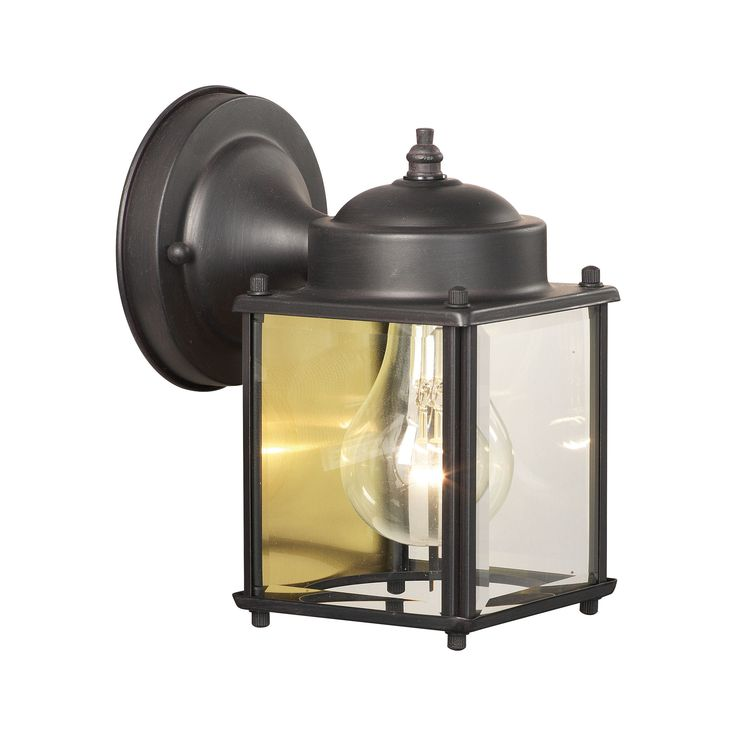 Thomas Lighting SL946963 Essentials Collection Painted Bronze Finish Traditional Wall Sconce
