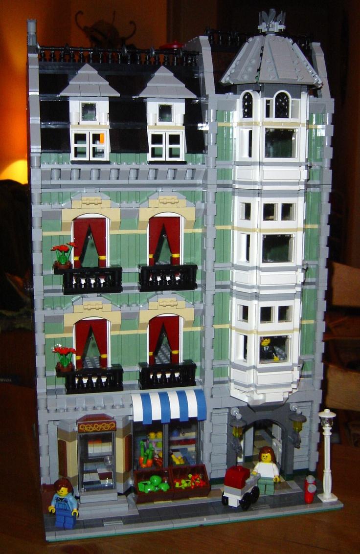 82 best Lego houses images on Pinterest | Lego house, Lego ...