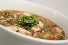 Vietnamese Canh Chua Ca - Hot and Sour Catfish Soup
