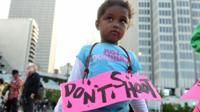 Black girls 'perceived as less innocent by US adults' - BBC News
