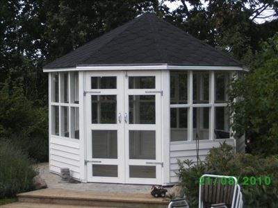 Pavillon, Havepavillon i