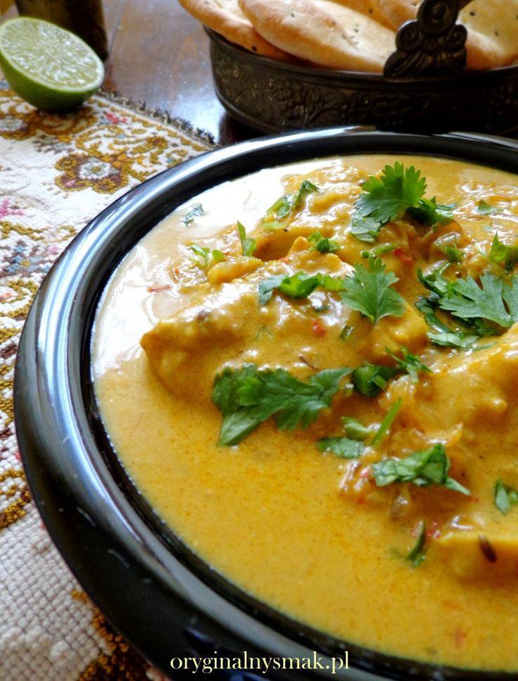 Indyjskie rybne curry