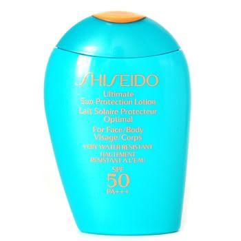 Kem chống nắng Shiseido Ultimate Sun Protection Lotion For Face/Body SPF 60 của Nhật là kem chống nắng siêu an toàn cho làn da của bạn, dành cho mặt và body, chống cả tia UVA/UVB, dưỡng chất trong kem nhẹ nhàng thẩm thấu ko gây nhờn dính, hay bí lỗ chân lông, khả năng chống nước cao. Thích hợp dùng hằng ngày cho những làn da mỏng manh nhạy cảm.