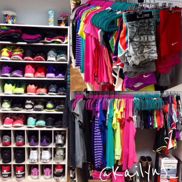 10 best Workout clothes organizer images on Pinterest   Workout clothing Workout gear and ...