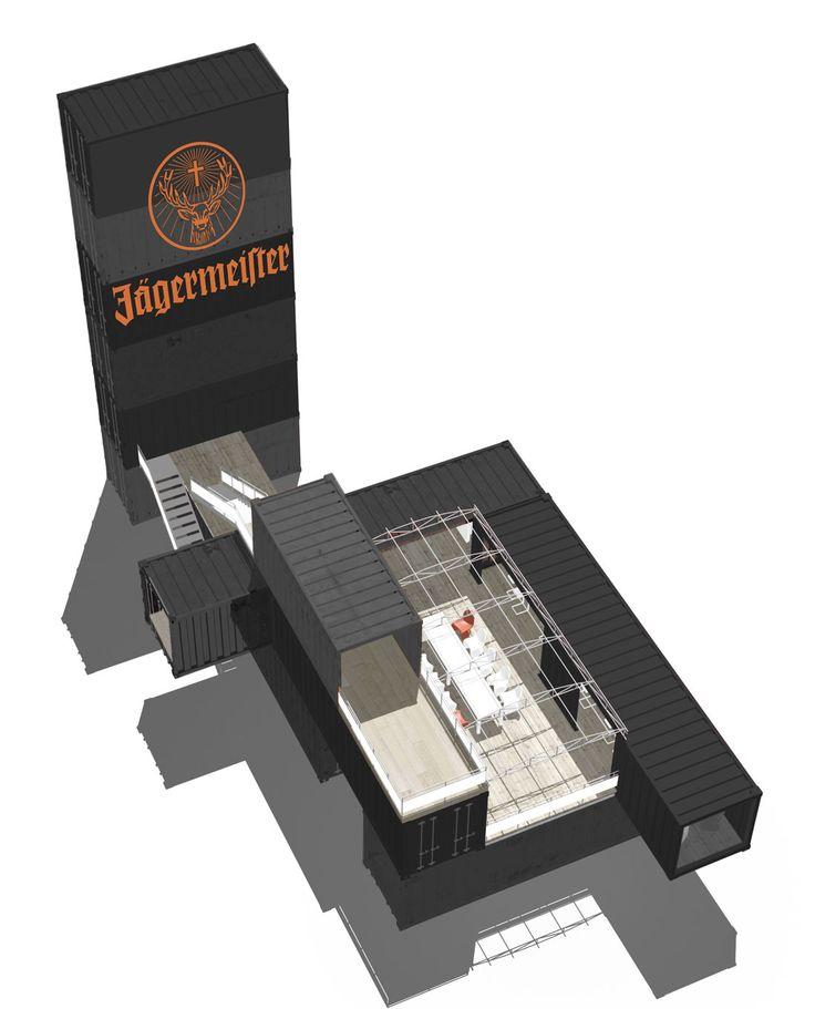 Jägermeister: Berlin, Winter 2009/2010   2x20ft