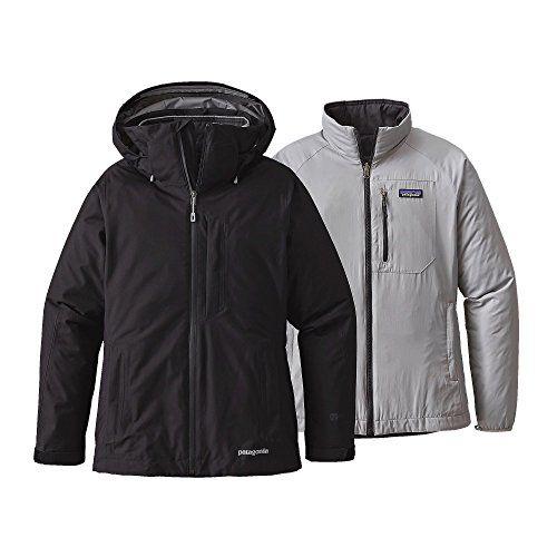 Patagonia W's 3-in-1 Snowbelle Winter Jacket Black Womens M