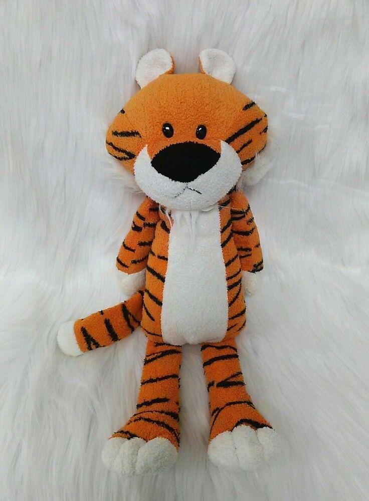 16 Animal Adventure Tiger Sweet Sprouts Orange Calvin Plush Toy