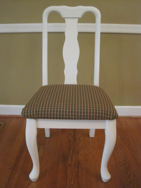 Dining room chair redo: Recovering the seat cushion ...