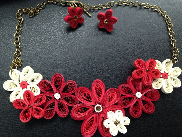 Colier quilling