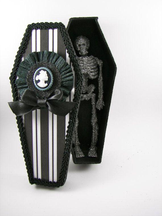 1000 Ideas About Halloween Coffin On Pinterest