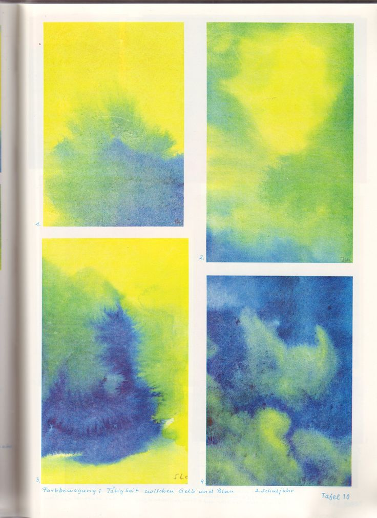 Class 2 : Color Movement Blue and Yellow