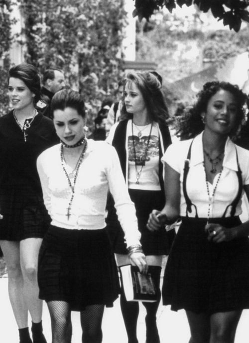 It's any day now that I'll begin to dress like a character from The Craft.