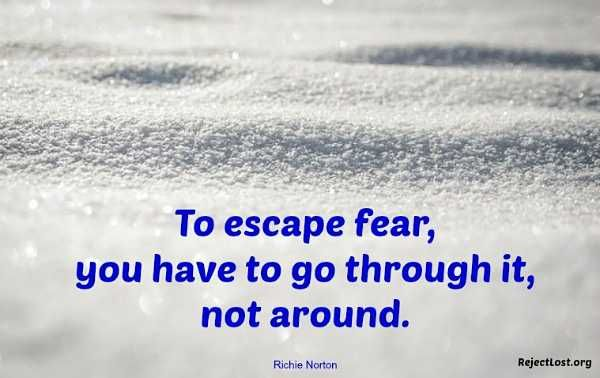 Overcoming Fear Quotes by @quotesgram