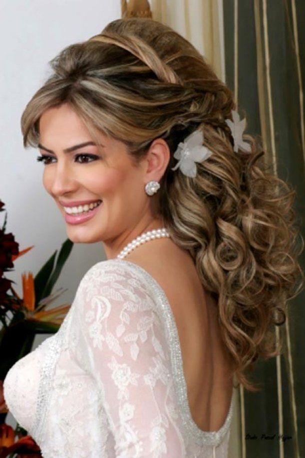Bridal Updos with Tiara for Long Hair | wedding hairstyles with tiaras for long hair (7)