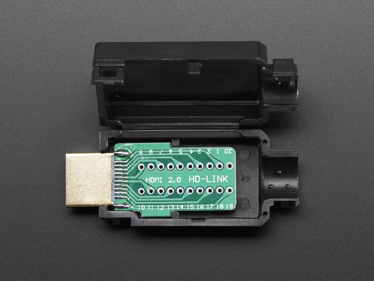 HDMI Plug Breakout Board  PRODUCT ID: 3119  $3.50