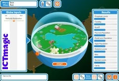 A role-playing game which highlights what we can do to make a better world by being citizen scientists. Take the character on a science adventure and follow the clues to complete the missions.