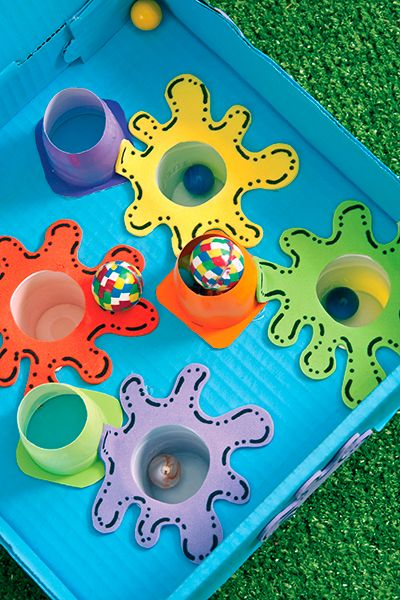Juegos de destreza para ni os con materiales reciclados para juegos jardin pinterest for Juegos de jardin para nios puebla