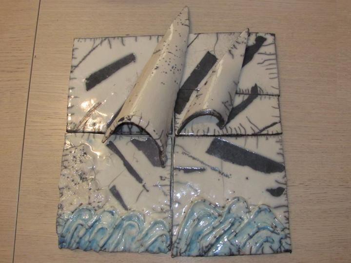 Espositrice: Doriana Ilic, ceramica raku https://www.facebook.com/photo.php?fbid=689034921134748&set=gm.605042852904223&type=1&theater
