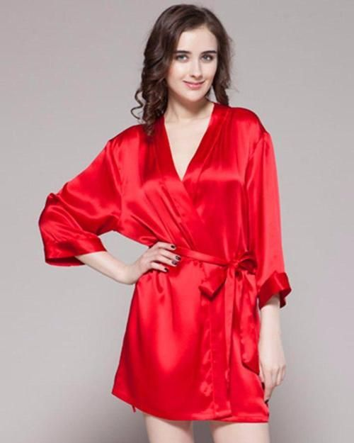8a26b7749a Buy Red - 100% Polyester Satin Gown - GWN 11 RD Online in Karachi ...