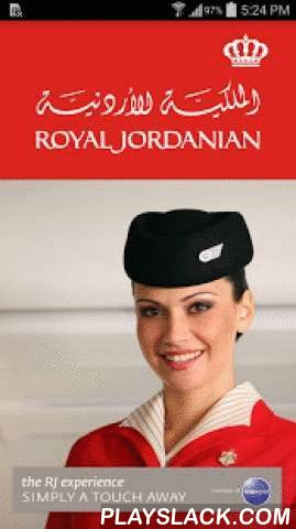 Royal Jordanian Airlines  Android App - playslack.com , Royal Jordanian The Joy of ConvenienceThe Royal Jordanian Airlines experience, simply a touch away.Managing your Royal Jordanian flight is very simple and convenient from the second you book till the moment you land.All your travel details at your fingertips, start your next RJ journey with our extensive features such as Booking your flight, Check-In or search for a flight status.