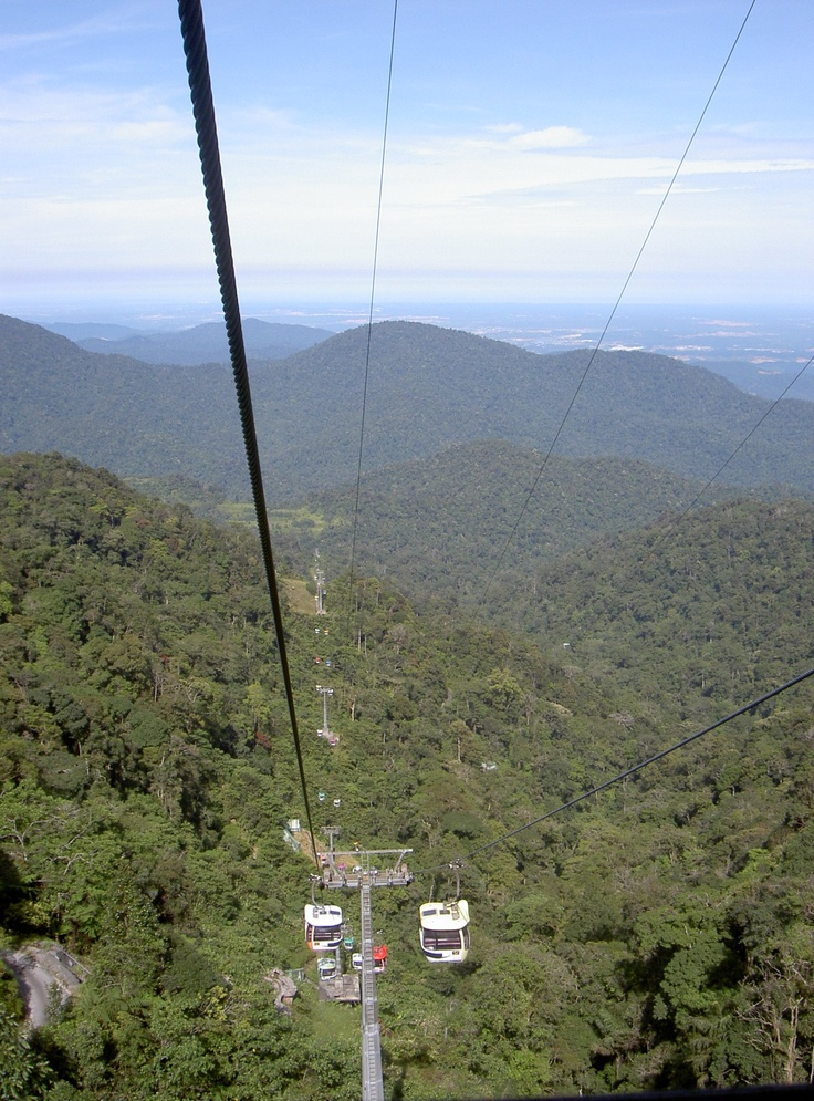 Cable car in Genting Highlands - Malaysia