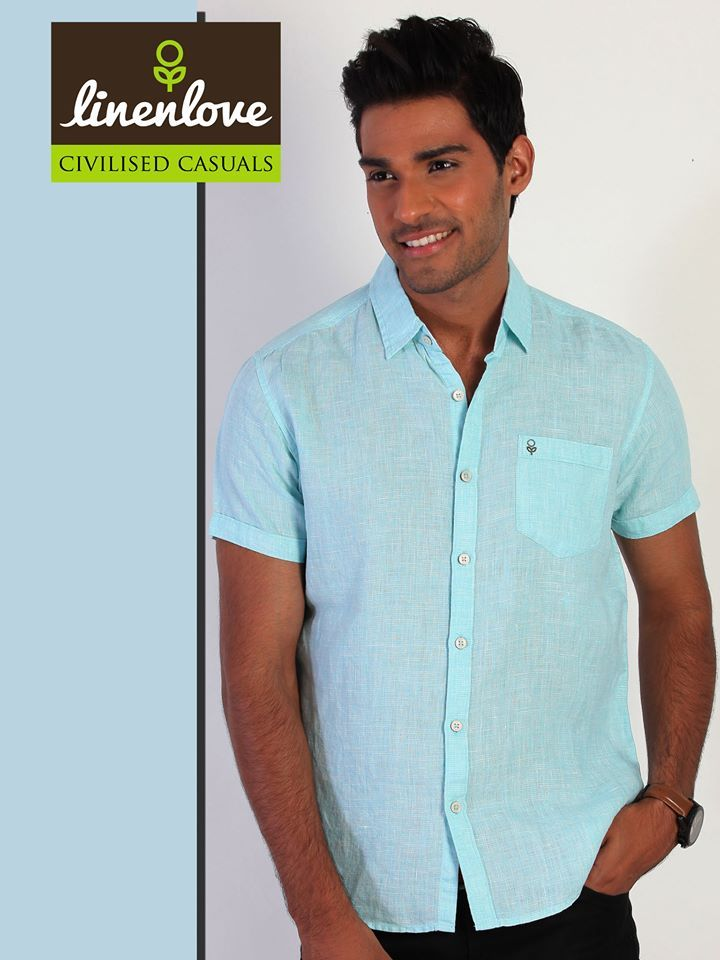 Smart Casual #Shirt by #LinenLove give you a trendy reason to flaunt it off in style!   Buy now: http://bit.ly/1kSpHy0
