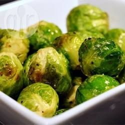Easy Roasted Brussels Sprouts @ allrecipes.com.au