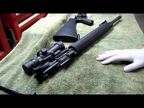 15 ar field rifle strip
