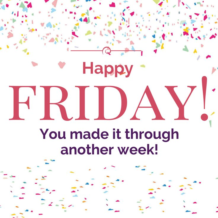 May your Friday sparkle and shine! Have a great one! #TGIF #Friday