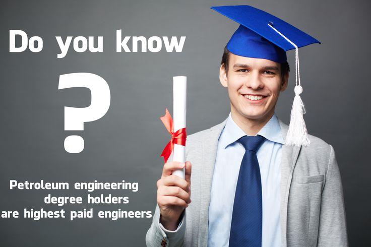 petroleum engineering degree holders - highest paid engineers