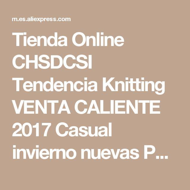Tienda Online CHSDCSI Tendencia Knitting VENTA CALIENTE 2017 Casual invierno nuevas Polainas de Alta espesar la señora elástica pantalones calientes pantalones flacos para mujeres | Aliexpress móvil
