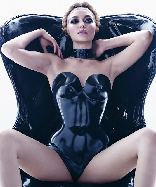 Lily Of The City:  Lily Of The City Pirelli's 2015 CalendarGigi Hadi...