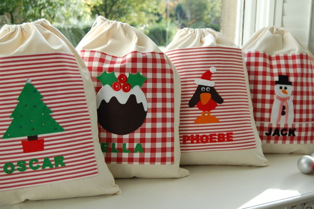 Personalised Santa Sack  £22.00